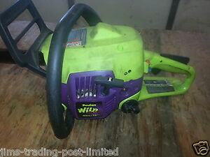 Used Poulan Wild Thing P4018wt Chainsaw For Parts Ebay
