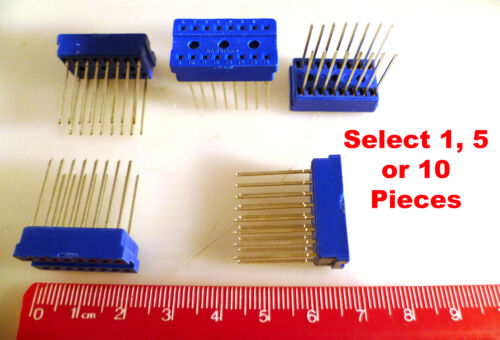 Cambion 16 Way DIL Wire Wrap Standard Profile IC Socket MBE009F