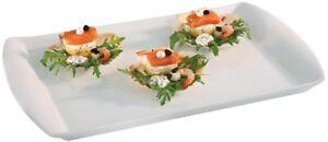 En Herbe Gn 1/1 Porcelaine Buffet Assiette Extra Strong Blanc 53 X 32,5 Cm Gastlando-afficher Le Titre D'origine