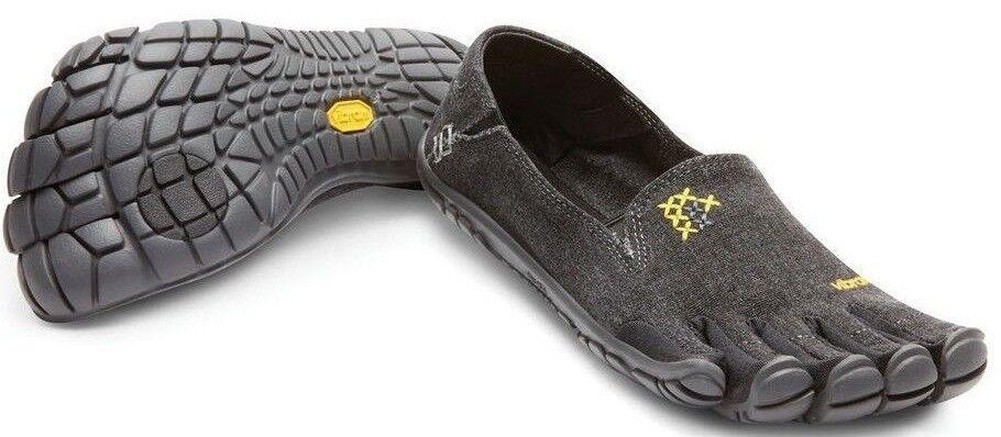 Vibram 14W6204 Women CVT-Hemp Black Casual Comfort Minimal Walking Walking Walking Slip-On shoes 115e7a