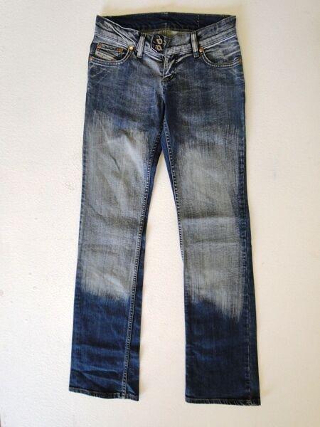 Diesel  Damen Damen Damen Jeans Hose Blau Stonewashed W27 L32 | Wirtschaft  4b47ed