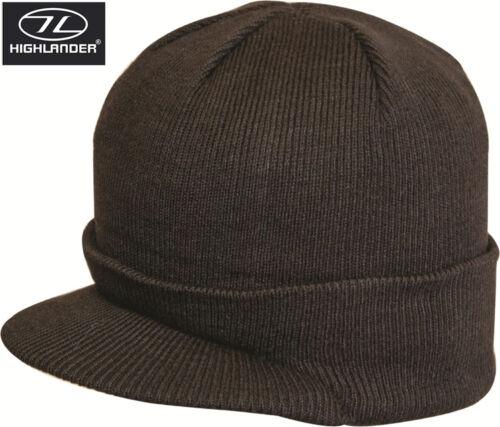 Moyens à visière bonnet thinsulate armée thermique hiver ski chapeau peak jeep mash chapeaux