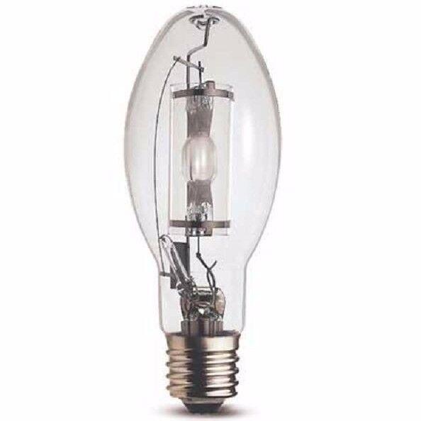 Osram Lámpara Oval de descarga de alta intensidad hqie 100WDL 100W E27-Tornillo, Vidrio Transparente
