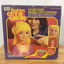 Cut & Grown Toy Hair & Make-Up Center in Box Vintage 1981 Gabriel Fashion New