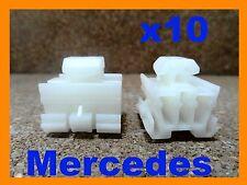 10 Mercedes Benz  door body trim Moululding Clip fasteners