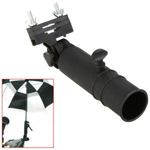 Golf-Regenschirmhalter-Golfschirmhalter-fuer-Trolleychirm-Trolleyschirm-O0D3