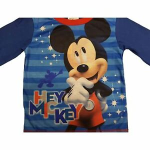 Official-Genuine-Disney-Boys-Mickey-Mouse-Pyjamas-Age-18-Months-1-2-3-4-Yrs