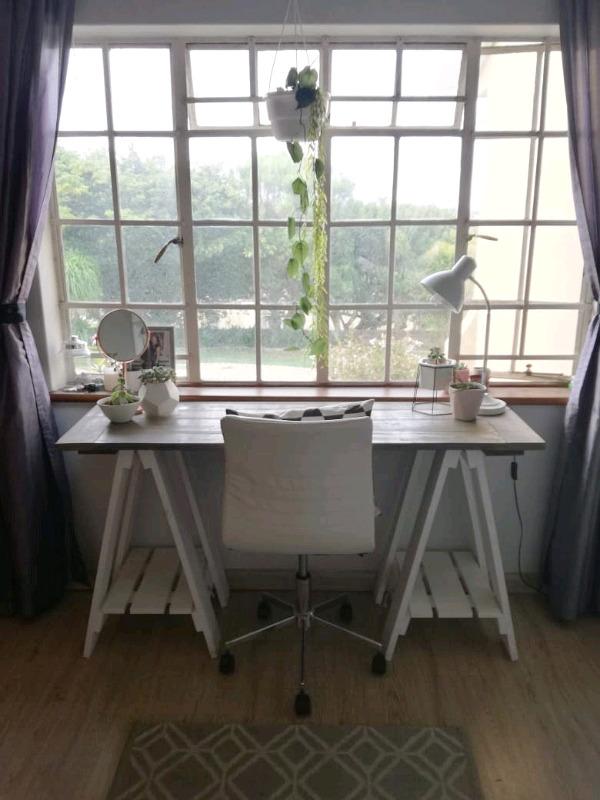 Trestle Table Desk and more