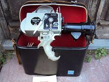 ancienne caméra pathé  webo m reflex 16 mm vendu avec son étui