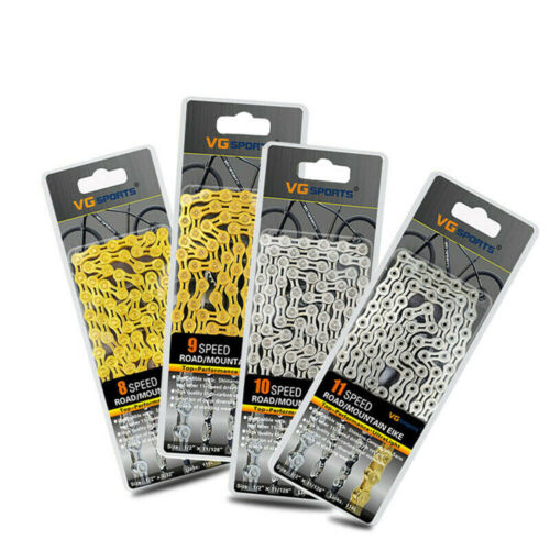 Bicycle Chain 8 9 10 11 Speed Gear Mountain Bike Road Hybrid Cycle Links..
