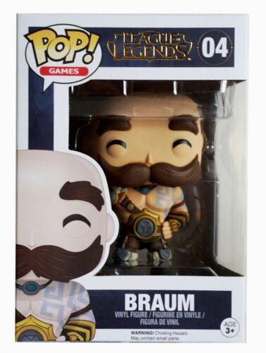 Braum #10304 Funko POP League of Legends Games