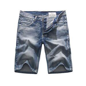 FOX-JEANS-Men-039-s-Dean-Blue-Denim-Shorts-SIZE-32-44