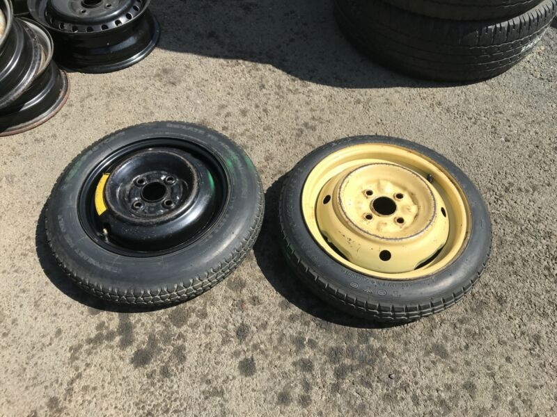 Toyota Spare Wheel Biscuit Rim and Tyre USED