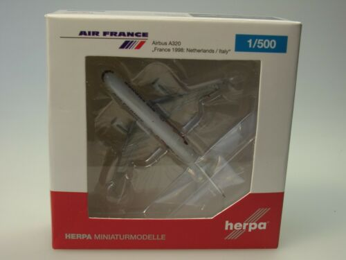 531405-1:500 Herpa Wings Airbus A320 Air France WM 1998 Niederl.// Italien