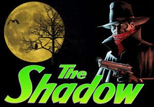Ambitieux Bally The Shadow Flipper Machine Rechange Translite Bonne Remplacement MatéRiaux Soigneusement SéLectionnéS