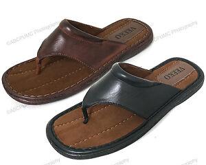 Men-039-s-Slides-Sandals-Thong-Comfortable-Flip-Flops-Casual-Slip-On-Summer-Slippers
