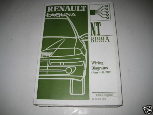 Wiring Diagrams Renault Laguna  Stand 06  2001