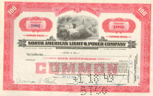 North-American-Light-amp-Power-gt-stock-certificate-share