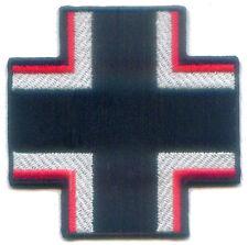German Panzer Tiger Tank Luftwaffe Fighter War Battle Cross Emblem Symbol Patch