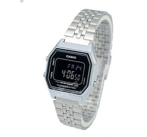 Casio-LA680WA-1B-Digital-Watch-Brand-New-amp-100-Authentic