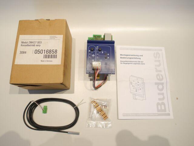 Buderus Modul Zm427 S04 Kesselbetrieb | eBay