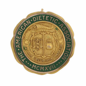 American-Dietetic-Association-Pin-Gold-Filled-Nutrition-Collectible