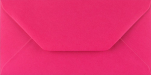 100 Fuchsia Pink DL Envelopes for Weddings Card Making Invitations Greetings