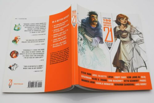 Learn From 100 Famous Artists 21 Draw 250 page Book To Become A Better Artist