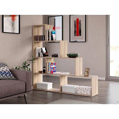 Libreria o estanteria escalera roble canadian NUEVA 145X145X29