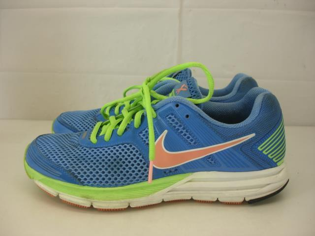 Nike Zoom Structure + 16 correr mujer para mujer correr Zapatos 536974-463 Azul Verde eb44ed