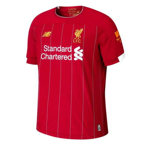 s-3xl Salah FC LIVERPOOL HOME SHIRT MAGLIA 2019/2020 NUOVO ROSSO ...