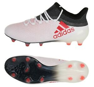 lowest price db5c9 f9d99 Image is loading Adidas-Men-X-17-1-FG-Tech-fit-