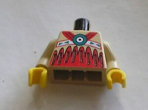 Buste-Personnage-LEGO-western-minifig-torso-973px106-Set-6746-6748-6763-6766