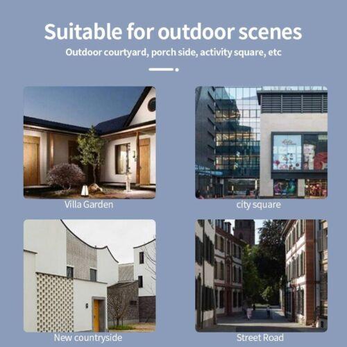 Solar LED Landscape Walkway Lights Floodlight PIR Motion Sensor COB for Garden