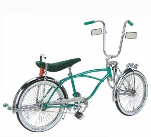 """20/"""" Lowrider Bike  with 72 spokes Black Blue Red Green Chrome"""