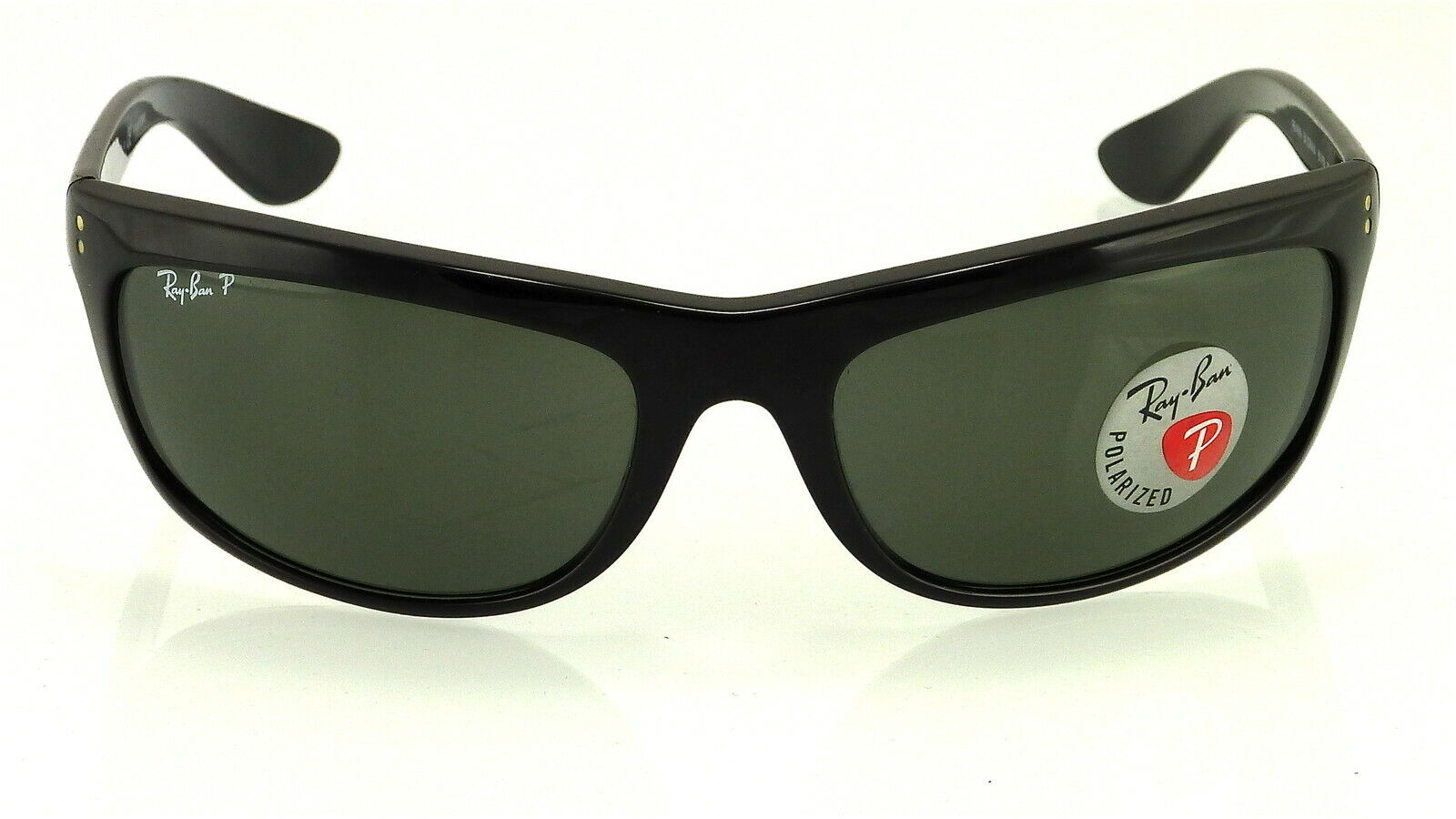 04e0dbef15 Ray-Ban RB 4089 BALORAMA 601 58 62mm Black Frame Green Polarized for ...