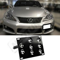 Rev9 For Lexus Is 06-12 Front Bumper License Plate Tow Mounting Kit Bracket