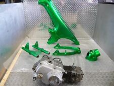 Honda CT70H Frame, Swingarm, Triple Trees, Headlight Bucket and Engine #303