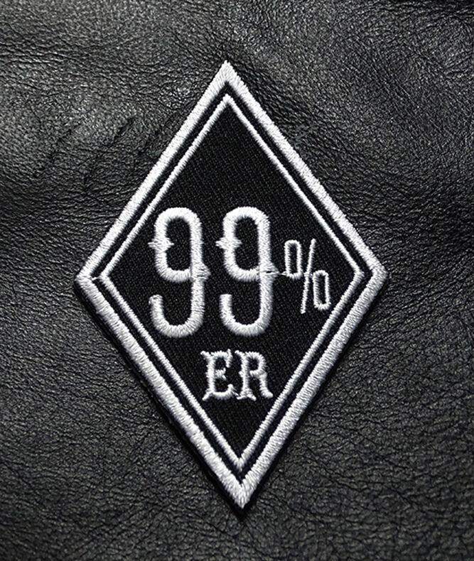 ONE PERCENTER OUTLAW BIKER MOTORCYCLE 1/%er BIKER 3 PC PATCH