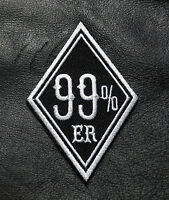 99% Er 99 Percenter Anarchy Outlaw 3 Inch Iron On Mc Biker Patch