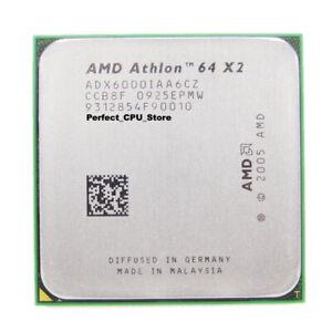 Amd Athlon 64 X2 6000 3ghz 2mb Dual Core Socket Am2 Adx6000iaa6cz Processor Cpu Ebay