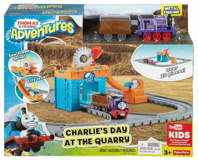 Trenino Thomas Charlie's Day at the Quarry - MC FBC59 - 3+ anni