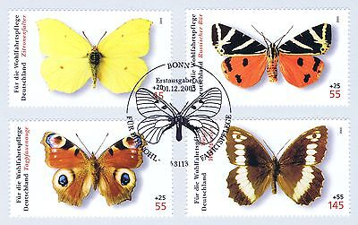 WohltäTig Brd 2005: Schmetterlinge! Wohlfahrt Nr. 2500-2503! Bonner Sonderstempel! 1a! 158 Produkte Werden Ohne EinschräNkungen Verkauft