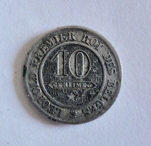 Belgien-10-Centimes-1861-Leopold-I-1831-1865-ss-2227