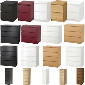 MALM Chest Of Drawers, Dressing Table, Desk, Office Home Room Study Table Drawer