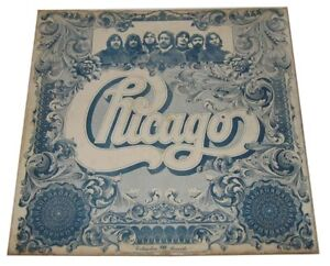 Philippines CHICAGO Self Titled LP Record