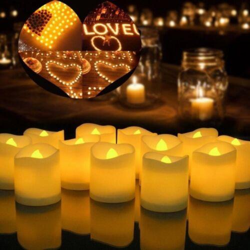 1PCS Electronic Glow LED Candle Simulation Flame Family Wedding Party Decoration