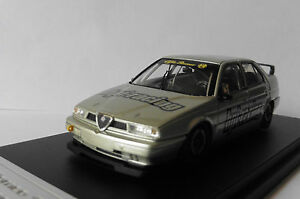 Alfa Romeo 155 Ts Silverstone Argent Hpi Racing 8163 1/43 Silber Argent Argente