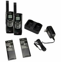 (2) Cobra Cxr-925 35 Mile 22 Channel Uhf/fm Noaa Two-way Radios Walkie Talkies on Sale