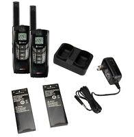 (2) Cobra Cxr-925 35 Mile 22 Channel Uhf/fm Noaa Two-way Radios Walkie Talkies on sale